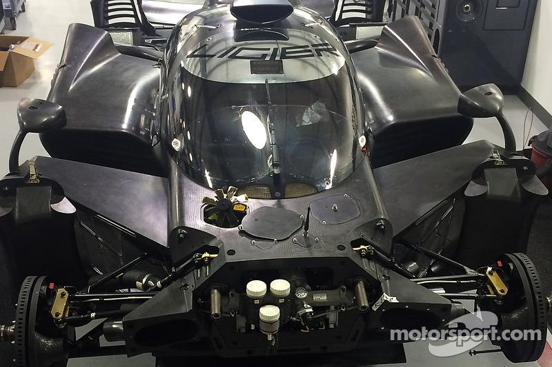 Der Ligier JS P2 Honda in Workshop von Michael Shank Racing