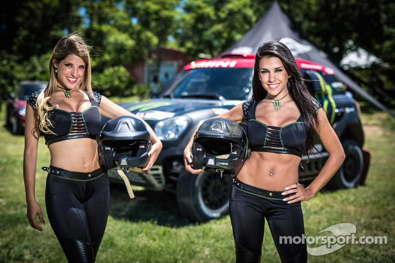 Die bezaubernden Monster-Energy-Girls
