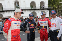 Dirk von Zitzewitz, Carlos Sainz, Giniel de Villiers, Lucas Cruz