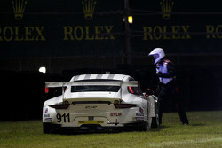 #911 Porsche North America Porsche 911 RSR: Nick Tandy, Marc Lieb, Patrick Pilet, Michael Christensen in trouble