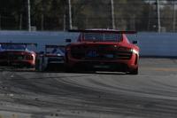 #45 Flying Lizard Motorsports Audi R8 LMS: Markus Winkelhock, Robert Thorne, Satoshi Hoshino, Tomonobu Fujii