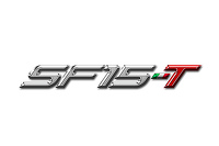 The logo for the SF15-T, Ferrari's 2015 F1 challenger
