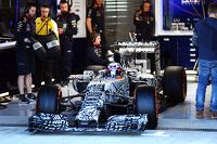 Daniel Ricciardo, Red Bull Racing RB11 leaves the pits