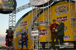 Pre-race presentations by Lowe's Motor Speedway president Humpy Wheeler