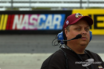 Ricky Rudd's crew chief Fatback McSwain