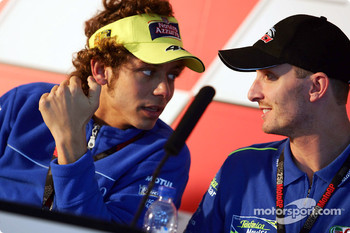 Press conference: Valentino Rossi and Colin Edwards
