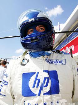 Williams-BMW pit crew member