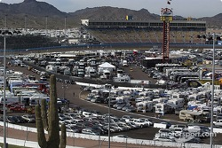 Paddock area at Phoenix International Raceway