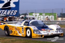 #9 Obermaier Racing Porsche 956: Jürgen Lässig, Fulvio Ballabio, Dudley Wood