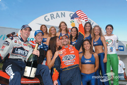 Team USA won the  ROC Nations Cup in 2002 with Jimmie Johnson and Jeff Gordon