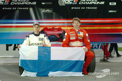 Team Finland: Heikki Kovalainen and Marcus Gronholm