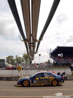 Paul Radisich on pit lane