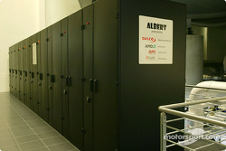 Albert, the new supercomputer for CFD calculations at the Sauber headquarters in Hinwil