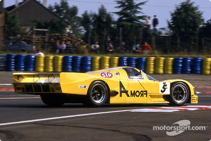 #5 Brun Motorsport Porsche 962C: Harald Grohs, Akihiko Nakaya, Sarel van der Merwe