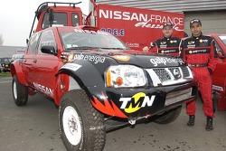 Nissan Dessoude team presentation: Thierry Delli-Zotti and Carlos Sousa