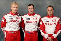 Nissan Rally Raid Team presentation: drivers Ari Vatanen, Colin McRae and Giniel De Villiers