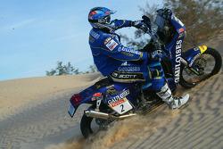 KTM team testing: Gauloises KTM rider Cyril Despres