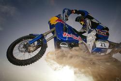KTM team testing: Red Bull USA KTM rider Kellon Walch