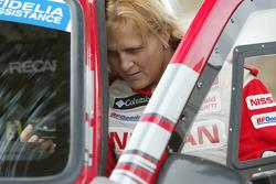 Nissan Rally Raid Team shakedown: Tina Thorner