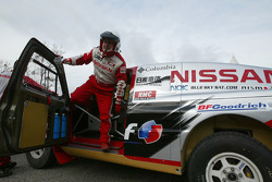 Nissan Rally Raid Team shakedown: Giniel De Villiers
