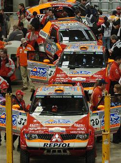 Mitsubishi Motors Repsol ATS Studios Team