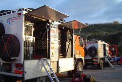 Team Dakar Sport assistance truck