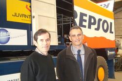 Jordi Juvanteny and Dr Xavier Mir