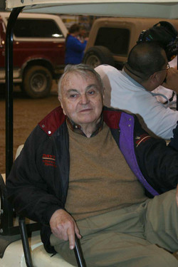 Chris Economaki, Grand Marshall of 2005 Chili Bowl