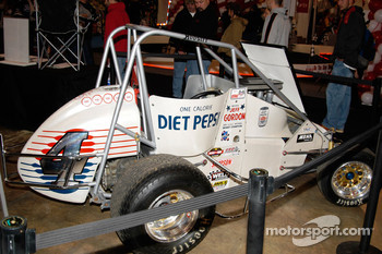 #4 Diet Pepsi Midget, driven by 1990 USAC Midget Champion Jeff Gordon
