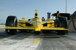 Panther Racing pit area