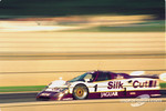 #1 Silk Cut Jaguar XJR-12:  Martin Brundle, Alain Ferté, David Leslie