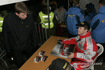 Harri Rovanpera meets his fans