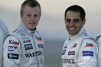 Kimi Raikkonen and Juan-Pablo Montoya could meet again in NASCAR