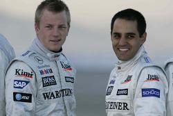 Kimi Raikkonen and Juan Pablo Montoya