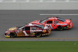Martin Truex Jr. and Jeff Burton