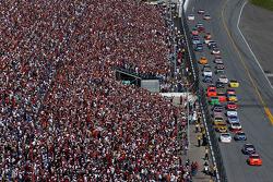 Tony Stewart leads early laps