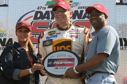 Drivers presentation: Bud Pole Award winner Dale Jarrett