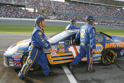End of the day for Michael Waltrip