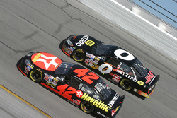 Jamie McMurray and Mike Bliss