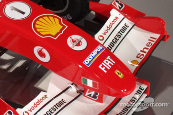 Detail of the new Ferrrari F2005