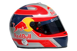 Red Bull Racing photoshoot: helmet of Vitantonio Liuzzi
