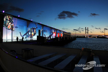 Red Bull Racing launch party: the Docklands Warehouse