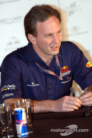 Red Bull Racing press conference: Christian Horner