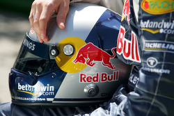 Helmet of Christian Klien