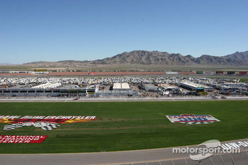 View of Las Vegas Motor Speedway