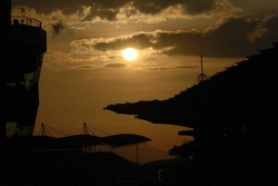 Sun sets on Sepang