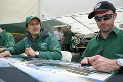 Stéphane Ortelli and David Brabham