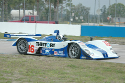 #16 Dyson Racing Team Lola EX257 AER: James Weaver, Butch Leitzinger, Andy Wallace