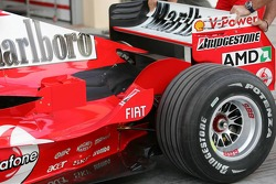 The new Ferrari F2005