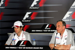 FIA Thursday press conference: Jarno Trulli and John Howett